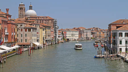 The Grand Canal at Sunny Day in Venice