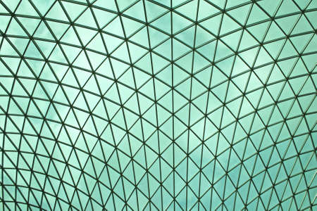 Modern Green Glass Ceiling Roof Structure