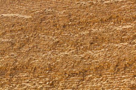Ancient Khafre pyramid in Giza stone texture