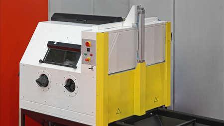 Abrasive Blasting Chamber Machine Equipment for Industry Reklamní fotografie