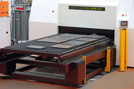 Laser Cutting Machine for Plate Metal Fabrication Production