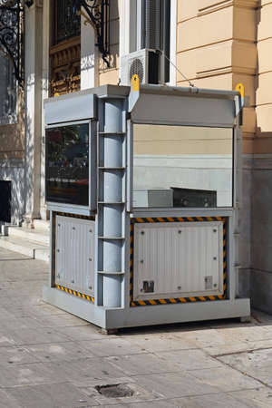 Armored Guard Booth Government Building Protection