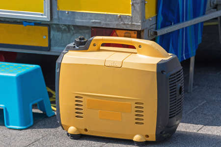 Small Portable Electric Power Generator at Street