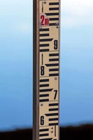 Staff Gauge Water Level Measuring Pole