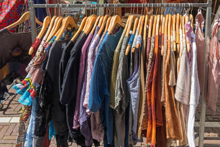 Linen and Cotton Clothing at Hangers Street Market