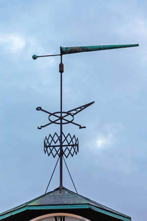 Weather Wind Vane With Compass in Oslo Norway