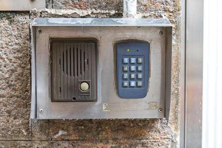 Intercom Door Bell With Numeric Keypad Combination