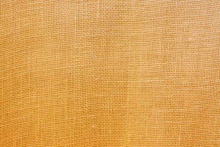 Close up shot of sack textile cloth material