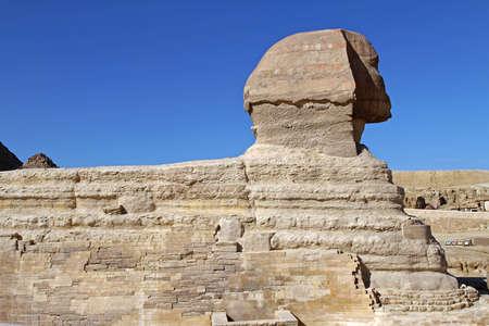 The Great Sphinx of Giza Egypt Profile