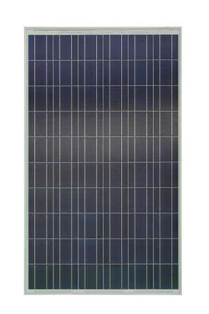 Renewable Energy Solar Panel Isolated