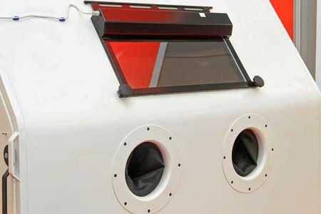 Automated Sand Shot Blaster Industrial Equipment Machine