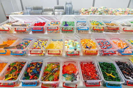 Many Gummy Candies Flavours in Bulk Boxes Variety
