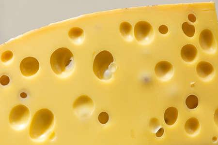 Big Piece of Emmental Cheese Swiss Cuisine