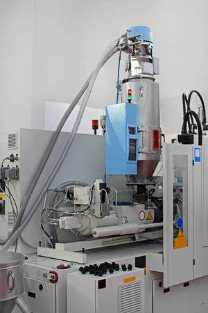 Injection Molding Machinery Plastic Parts Production Manufacture Reklamní fotografie