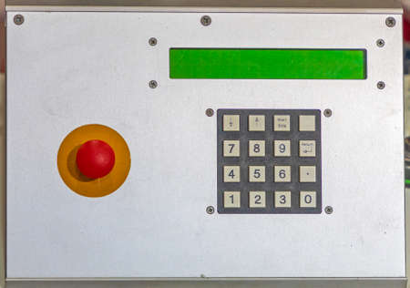 Alarm System Panic Button Numeric Pad Unit