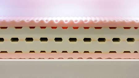One All Memory Foam Shape Sponge Bed Mattress