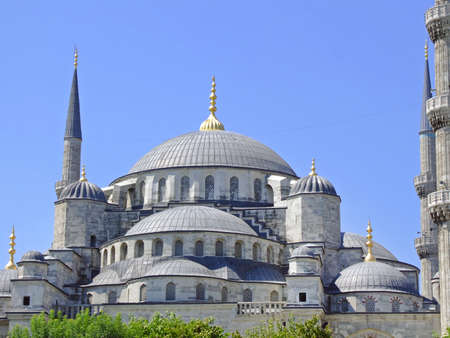 Sultan Ahmed Blue Mosque in Istanbul Turkey