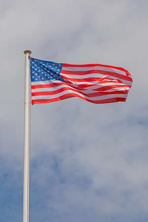Flag of the United States of America Sunny Day