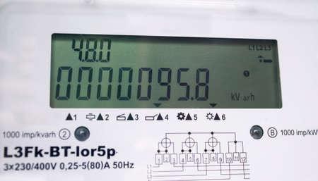 contador electrico: medidor el�ctrico de nueva generaci�n