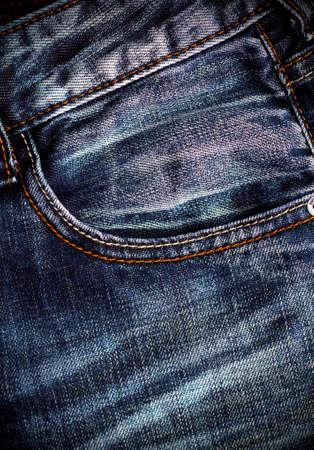jeans texture: Blue jeans texture. Closeup of pocket