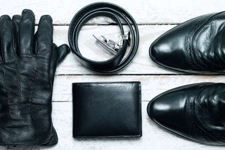 accesories: Stylish accesories for men crafted from leather