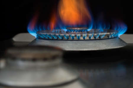 Conception of using gas in household.