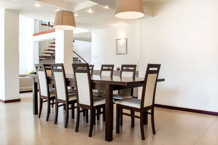 luxury apartment: Interior design in a luxury apartment. Conception of modern house