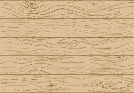 Wooden background texture. Color illustration of wooden boards vertical slats vector illustration.