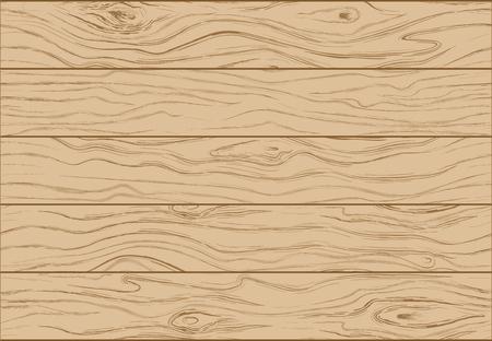 Wooden background texture. Color illustration of wooden boards vertical slats vector illustration.