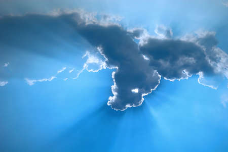 elemental: Blue Sky Cloud and Rays