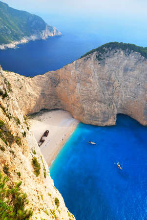 Navagio Beach Stock Photo - 13954212