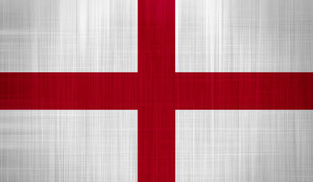 England Flag with a fabric texture Stock Photo - 16991571