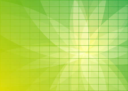 Abstract Green Background Wallpaper with tiles photo