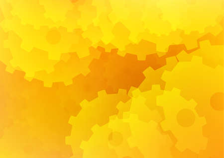 Abstract Orange and Yellow Background Wallpaper photo