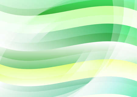 yellow banded: Abstract Green Wave Background Wallpaper