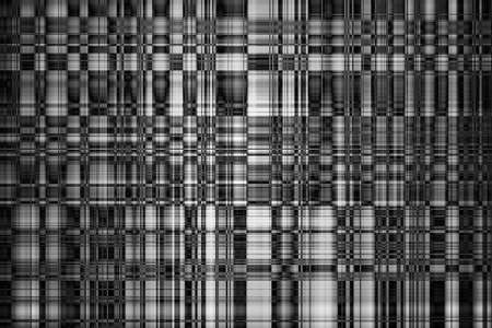 Abstract Kaleidoscope Mosaic Black and White Background Zdjęcie Seryjne