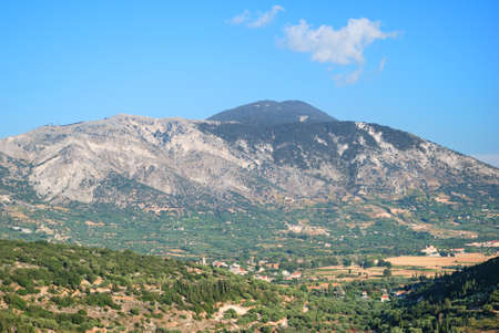 kefallinia: Cephalonia inland valley and high mountains
