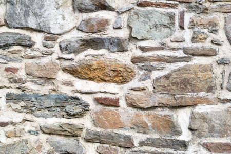 bulwark: Stone house wall texture background