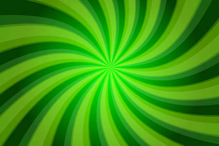 Abstract green background with twisted stripes photo