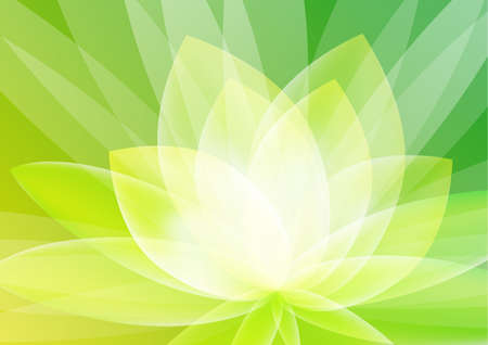 Abstract Green Floral Background Wallpaper Standard-Bild - 22861027