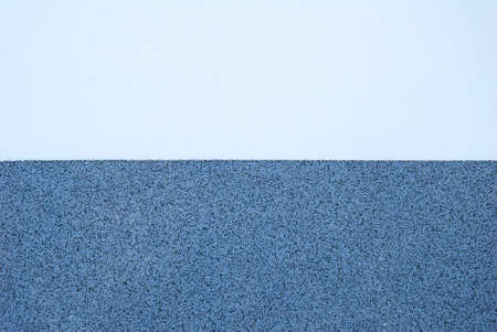 Wall plaster texture in two different tones of blue color and pattern Stock Photo - 24448451