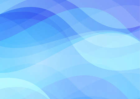 hillock: Abstract blue wavy waters background