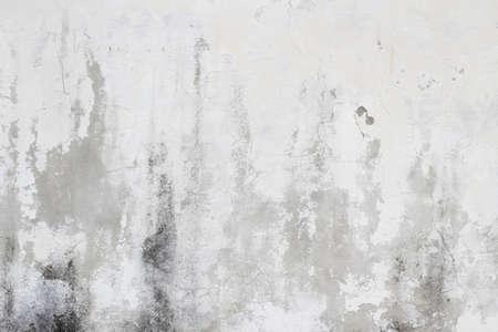 古いホワイト汚れた壁テクスチャ バック グラウンド 写真素材