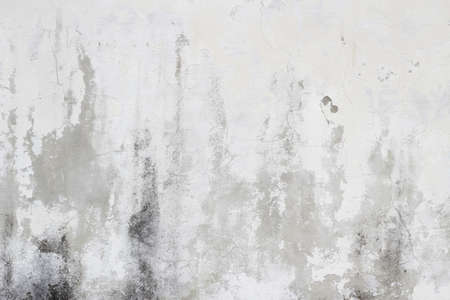 오래 된 흰색 더러운 벽 질감 배경