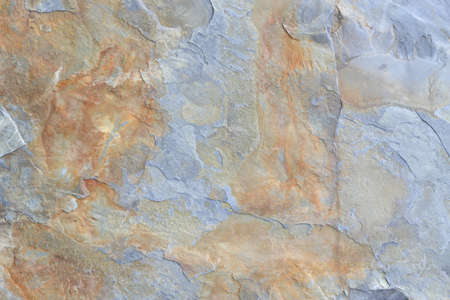 topdown: Grey and brown block of shale stone texture