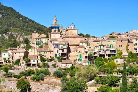 Beautiful village of Valldemossa on Majorca island in Spain Stock Photo
