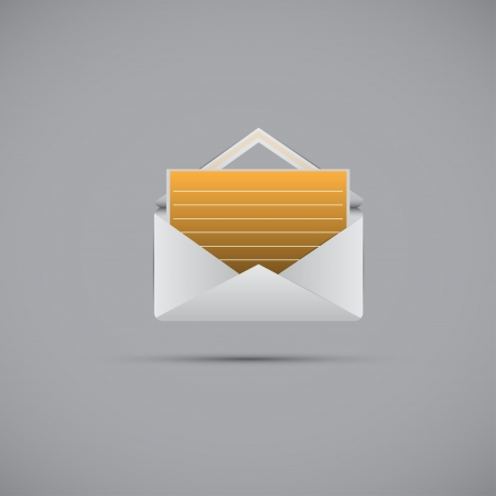 version  Mail and message icon illustration  Easy to edit Vector