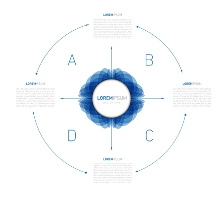 Infographic Element and Presentation for the web and print usage Illustration