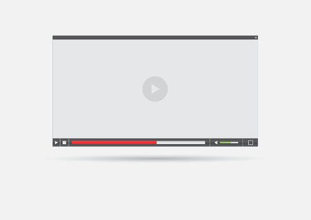 video player: Media player interface