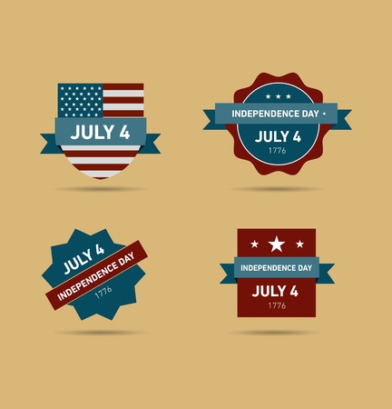 Independence Day  July 4 Retro Vintage